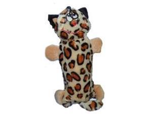 Vo-Toys Bottle Pockets Cat Plush 10in Dog Toy