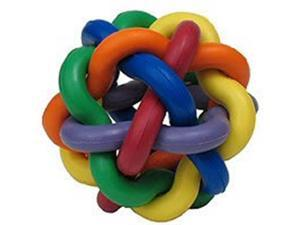Multi Pet Nobbly Wobbly Large 4 in Rubber Dog or Bird Toy