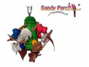 Parrotopia TOY17  Gems 9in x 10in Medium Bird Toy