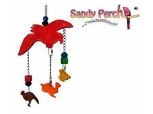 Parrotopia Toy 16  Noah Ark 17in x 10in Medium Bird Toy