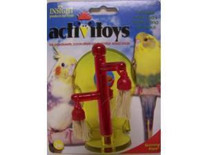 JW Pet Company Insight Activitoy Spinning Rope