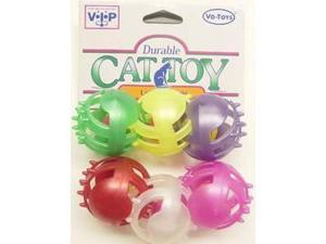 Vo-Toys Lots of Pearls 6 pack Cat Toy