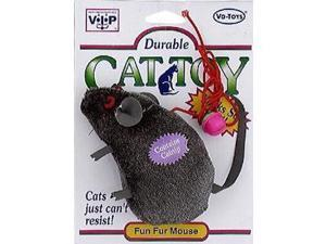 Vo-Toys Looks So Real Mouse Cat Toy