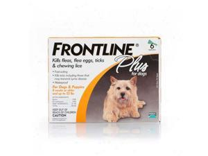 Frontline Flea Control Plus for Dogs And Puppies 11-22 lbs 6 Pack - 11-22-6PK-PS