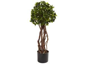Nearly Natural 2.5 English Ivy Topiary UV Resistant (Indoor/Outdoor)