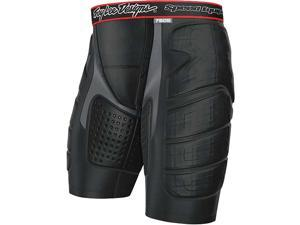 Troy Lee Designs BP 7605 Shorts Youth Undergarment MX/Off-Road/Dirt Bike Motorcycle Body Armor - Black / Medium