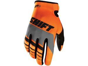 Shift Racing Assault Youth Boys MX Motorcycle Gloves - Orange / Medium
