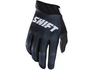 Shift Racing Raid Men's MotoX Motorcycle Gloves - Black / 2X-Large