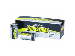 D Cell Industrial Strength Alkaline Battery, 2500mAh - 12-Pack