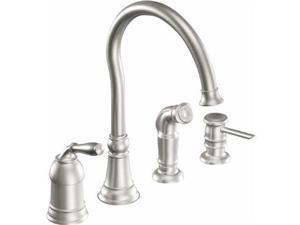 Moen, Inc. Single Handle Kitchen Faucet.