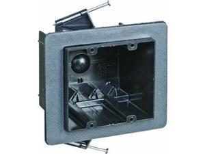 Thermoplastic Double Gang Box Nail On Vapor Tight Wholesale Plumbing FN-236-V