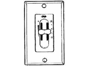 Hunter Fan Wht Fan/Light Switch 27182