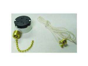 Gb Electrical 3Speed Pull Chain Switch Gsw-34