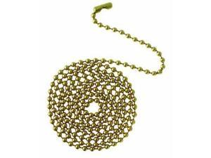 """Beaded Chain 12"""" Brass Finish Carded Westinghouse Lighting 77012 030721770128"""