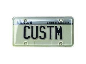 Custom Accessories 92520 License Plate Protector-LICENSE PLATE COVER