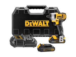 DCF885C2 20V MAX Cordless Lithium-Ion 1/4 in. Impact Driver Kit