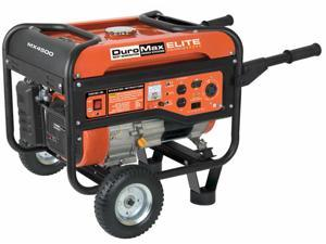DuroMax Elite 4,500 Watt 7 HP Gas Power RV Camping Portable Generator - MX4500