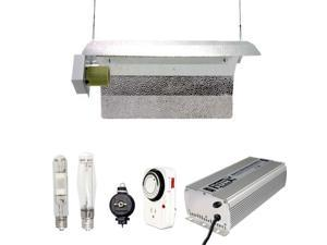 Virtual Sun 400W HPS MH Grow Light Winged Reflector Hood Digital Kit - 400 Watt