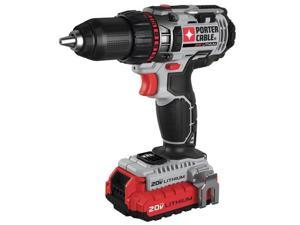 PORTER CABLE PCCK600LB Cordless Drill/Driver Kit,20.0V,1/2in. G7529216