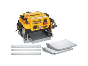 DW735X 13 in. Two-Speed Thickness Planer with Support Tables and Extra Knives