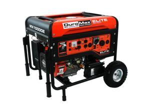 DuroMax Elite 10000 Watt Portable Gas Electric Start Generator - MX10000E