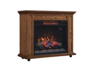 Duraflame Infared Rolling Mantel Fireplace - 23IRM1500-O107