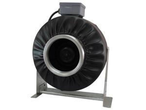 "Virtual Sun 4"" Inline Exhaust  Duct Fan 192 CFM Blower Hydroponics Vent - VS400F"