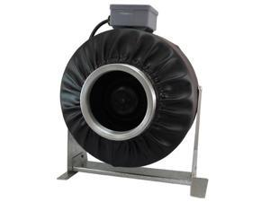 "Virtual Sun 6"" Inline Exhaust  Duct Fan 500 CFM Blower Hydroponics Vent - VS600F"