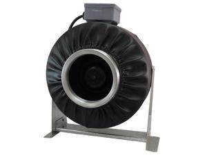 "Virtual Sun 8"" Inline Exhaust  Duct Fan 906 CFM Blower Hydroponics Vent - VS800F"
