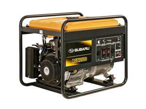 Subaru RGX6500 6500 Watt 12 HP Industrial Gas Powered Portable Generator