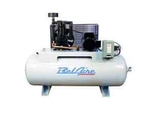 BelAire 338H 208 - 230-Volt 5-HP 80-Gallon Horizontal Electric Air Compressor