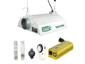 Virtual Sun 400W HPS MH Grow Light Hood Reflector Digital Ballast Kit - 400 Watt