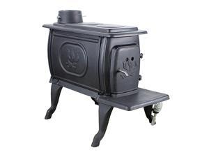 US Stove 1269E 54,000-BTUs 900-Sq.Ft. EPA Certified Cast Iron Wood Burning Stove
