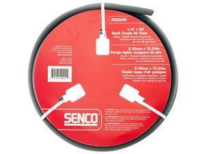Senco PC0045 1/4-Inch x 50-Feet 250 PSI LHB Durable Gray Push on Hose