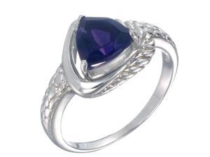 Vir Jewels Sterling Silver Amethyst Ring (1 CT) In Size 5