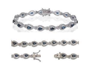 Blue Sapphire Bracelet (3.60 CT)