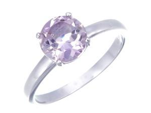 Sterling Silver Amethyst Ring (1.25 CT) In Size 7