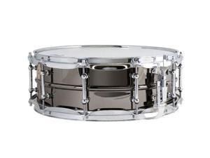 """Ludwig 5"""" x 14"""" Black Beauty Brass Shell Snare Drum, with Tube Lugs, Chrome Hardware"""