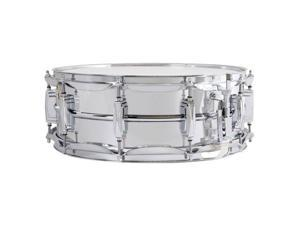 "Ludwig 5"" x 14"" Aluminum Snare Drum with Supra-Phonic Snares"