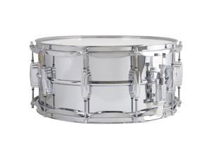 """Ludwig 6.5"""" x 14"""" Aluminum Snare Drum with Supra-Phonic Snares"""