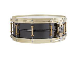 "Ludwig 5 ""x 14"" Black Beauty Brass on Brass Snare Drum"