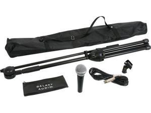 Galaxy Audio Complete Microphone & Stand Kit