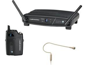 Audio-Technica ATW-1101 System 10 Digital Wireless with PRO92cW Headset, Beige