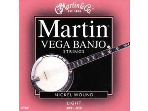 Martin Vega 5-String Banjo Strings, Light