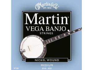 Martin Vega Banjo String Set, 5 String, Medium