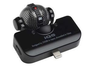 Zoom iQ5 Stereo Microphone for iOS Devices, Black
