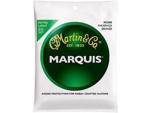 Martin Marquis Phosphor Bronze Acoustic Strings, Extra Light