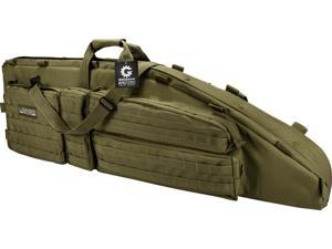"""Loaded Gear RX-600 46"""" Tactical Rifle Bag, OD Green"""