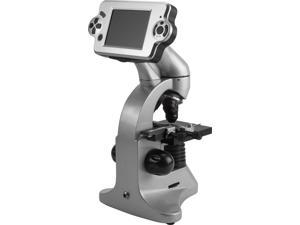 Barska AY12226 40x, 100x, 400x, 4MP Digital Microscope with Screen and Eyepiece