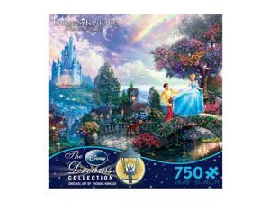 Thomas Kinkade Disney Dreams - Cinderella Wishes Upon a Dream: 750 Pcs
